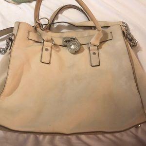 Michael Kors leather Hamilton bag